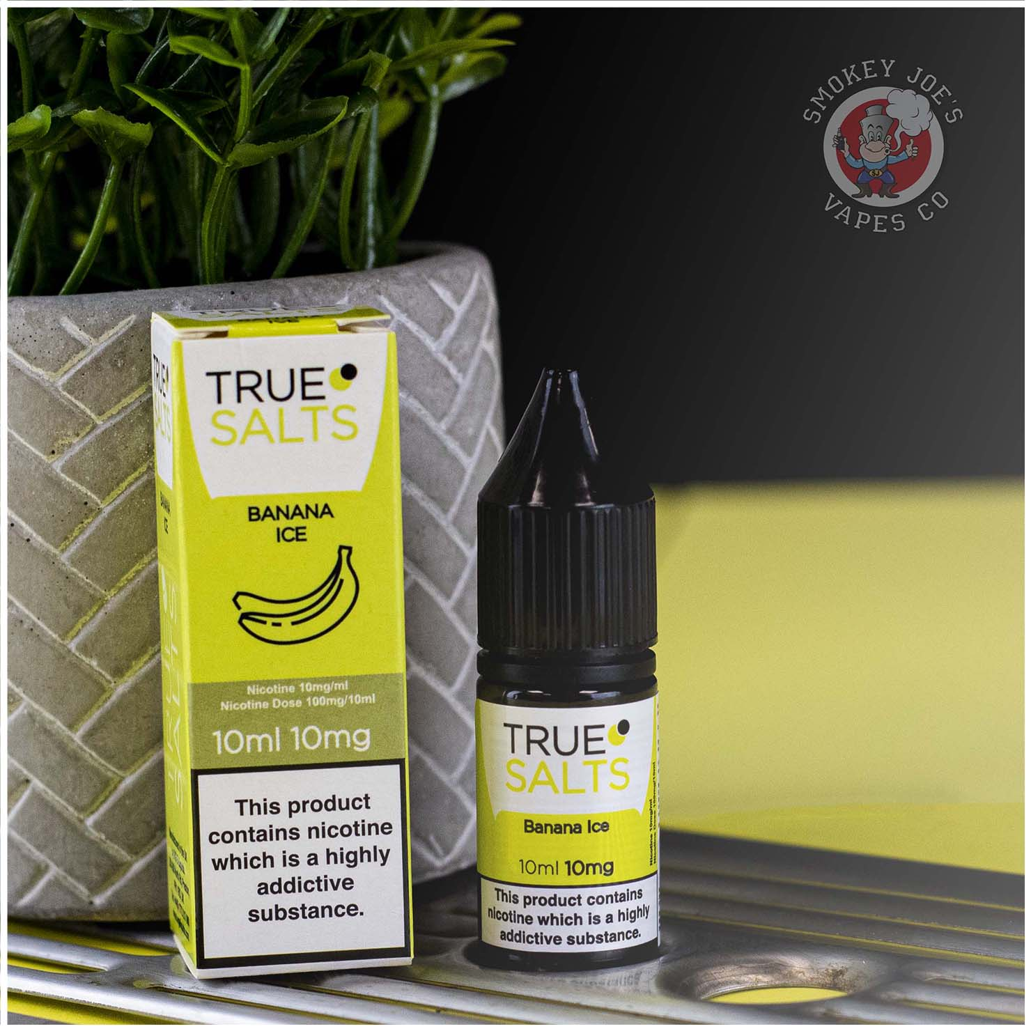 True Salts Ice Banana | Smokey Joes Vapes Co