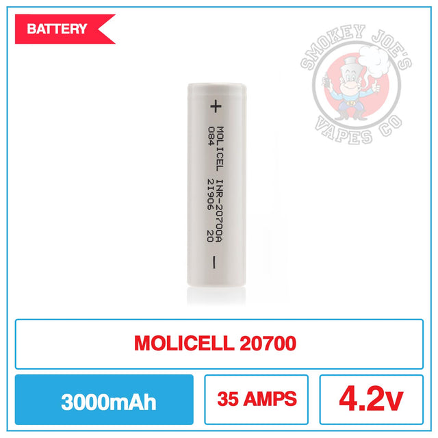 MOLICEL 20700 - Battery