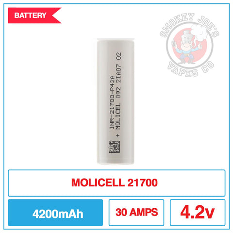 Molicel - 21700 - Battery