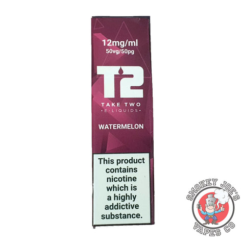 T2 - Watermelon - 12mg & 18mg | Smokey Joes Vapes Co