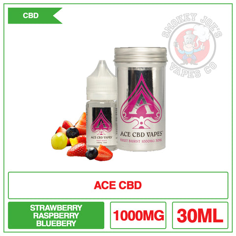 Ace Cbd - Fruit Burst - 30ml - 1000 mg