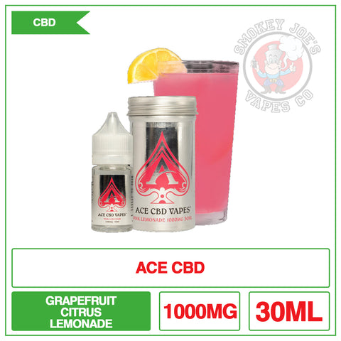 Ace Cbd - Pink Lemonade - 30ml - 1000mg
