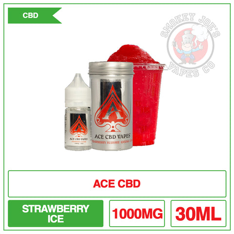 Ace Cbd -Strawberry Slushie -30ml-1000mg