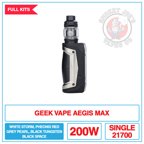 Geek Vape - Aegis Max Kit | Smokey Joes Vapes Co