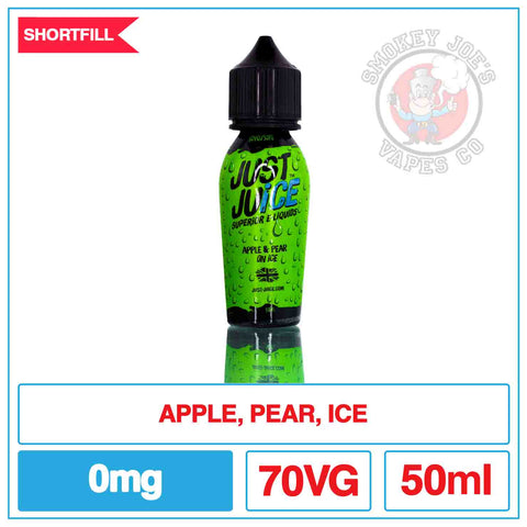 Just Juice - Apple And Pear On Ice - 50ml | Smokey Joes Vapes Co