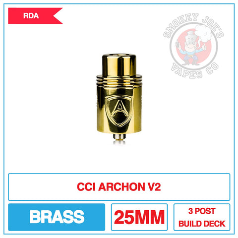 CCI Archon V2 - Brass | Smokey Joes Vapes Co