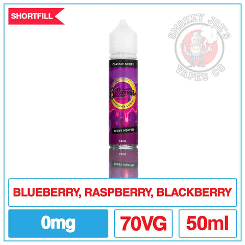 Billionaire Juice - Berry Heaven 50ml | Smokey Joes Vapes Co