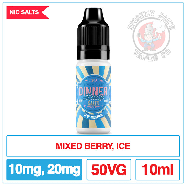 Dinner Lady salt - Blue Menthol | Smokey Joes Vapes Co