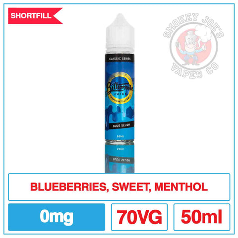 Billionaire Juice - Blue Slush 50ml | Smokey Joes Vapes Co