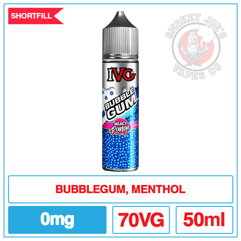 IVG - Bubblegum - 50ml - 0mg | Smokey Joes Vapes Co | Smokey Joes Vapes Co