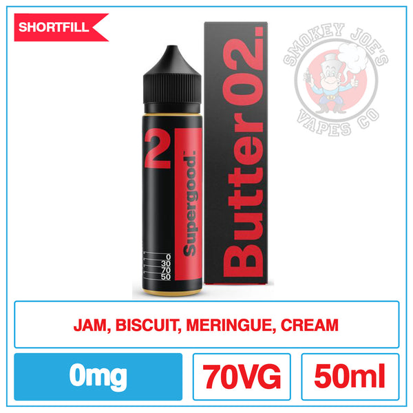 Supergood - Butter o2 - 50ml | Smokey Joes Vapes Co