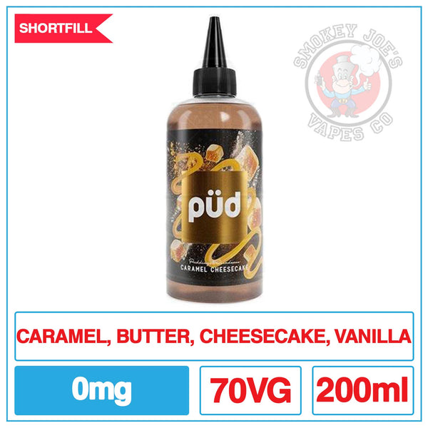 PUD Pudding and Decadence - Caramel Cheesecake - 200ml | Smokey Joes Vapes Co