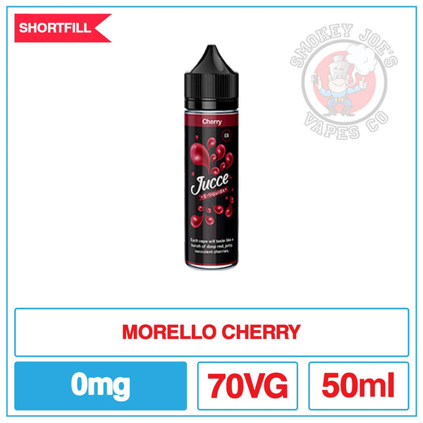 Jucce - Cherry - 50ml | Smokey Joes Vapes Co