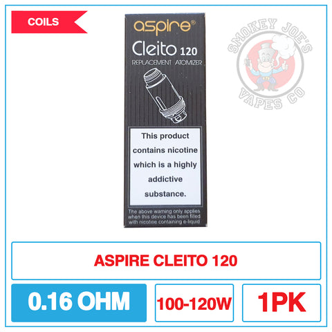 Aspire - Cleito 120 - Replacement Coils