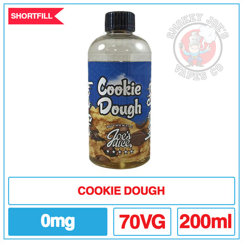 Joes Juice - Cookie Dough - 200ml| Smokey Joes Vapes Co