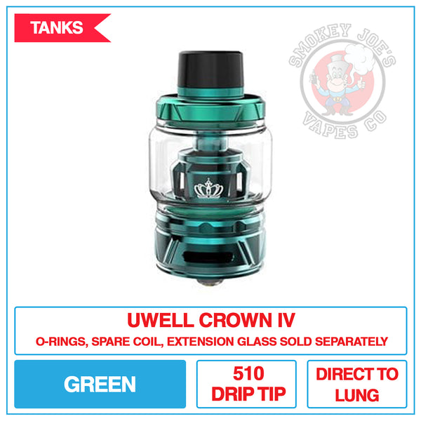 Uwell Crown 4 Tank | Smokey Joes Vapes Co