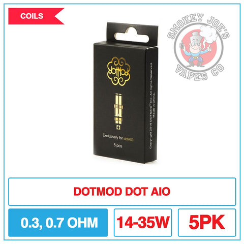 DotMod Dot-AIO Replacement Coils 5pk