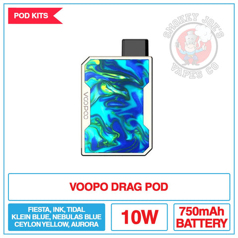 Voopoo - Drag Nano Pod Kit | Smokey Joes Vapes Co