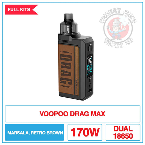 VooPoo - Drag Max Kit | Smokey Joes Vapes Co