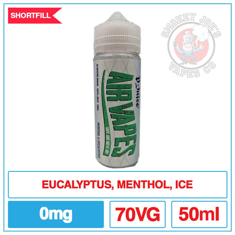 Air Vapes - Eucalyptus Menthol - 50ml | Smokey Joes Vapes Co