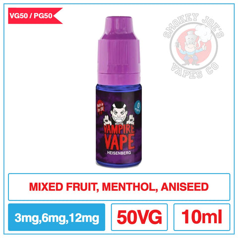 Vampire Vapes - Heisenberg | Smokey Joes Vapes Co