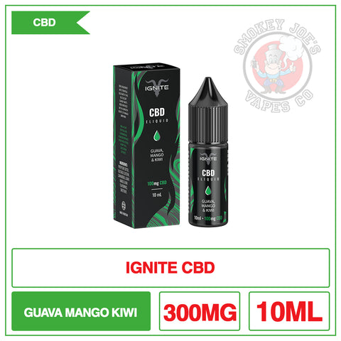 Ignite CBD - Guava, Mango, Kiwi - 10ml
