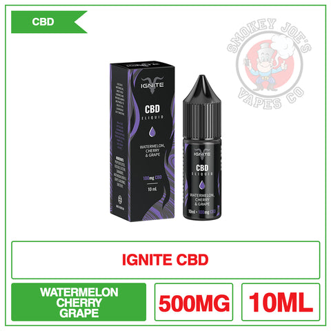 Ignite CBD - Watermelon Cherry And Grape - 10ml