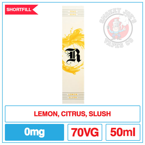 Retribution - Lemon Slush - 50ml | Smokey Joes Vapes Co