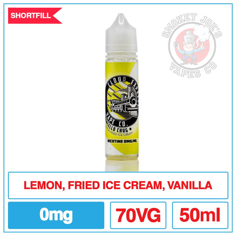 Cloud Express - Limoncello Chug - 50ml - Front Of Bottle | Smokey Joes Vapes Co
