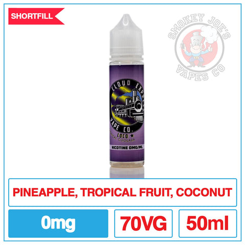 Cloud Express - Loco - 50ml - Front Of Bottle | Smokey Joes Vapes Co