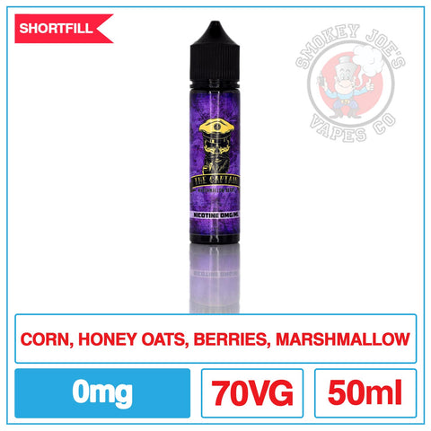 The Captain - Berry Marshmallow - 50ml | Smokey Joes Vapes Co