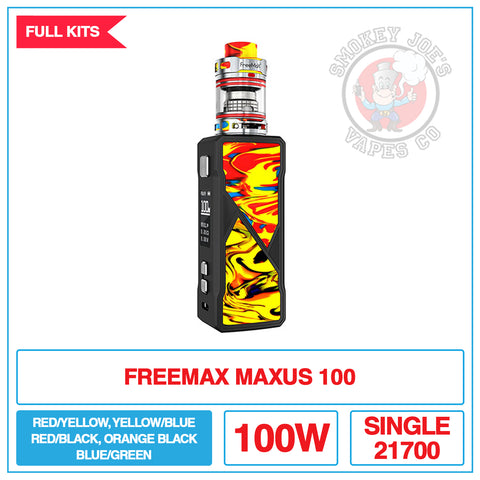 Freemax Maxus 100w Vape Kit | Smokey Joes Vapes Co