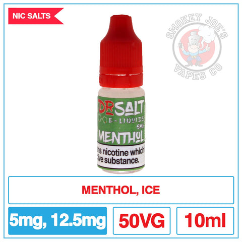 Dr Salt - Menthol | Smokey Joes vapes Co