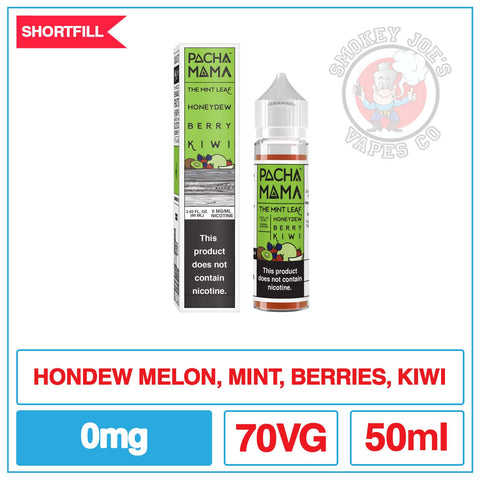 Pacha Mama - Mint Leaf Honeydew Berry Kiwi - 50ml | Smokey Joes Vapes Co