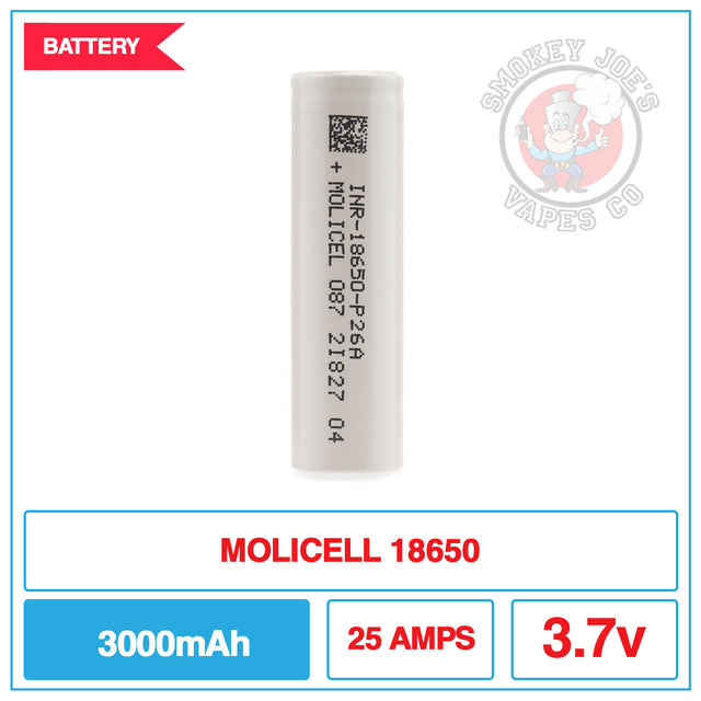 Molicel 18650 - Battery