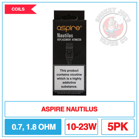 Aspire - Nautilus - Replacement Coils - 5pk