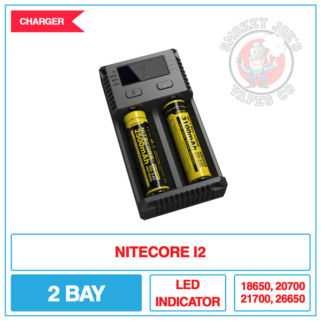 Nitecore I2 Battery Charger