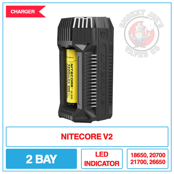 Nitecore V2 Battery Charger