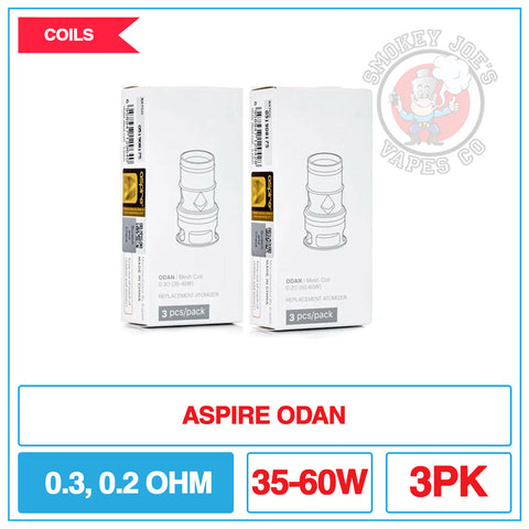 Aspire Odan - Replacement Coils