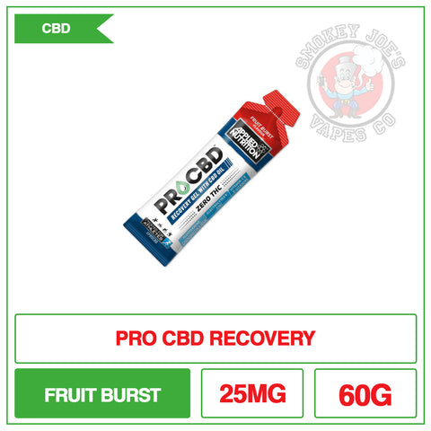 Pro CBD Recovery Gel With CBD Oil