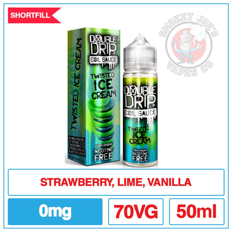 Double Drip Twisted Ice Cream | Smokey Joes Vapes Co
