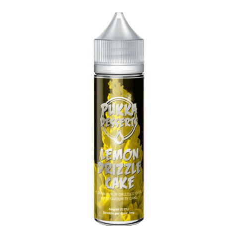 Pukka Juice - Lemon Drizzle Cake - 50ml | Smokey Joes Vapes Co