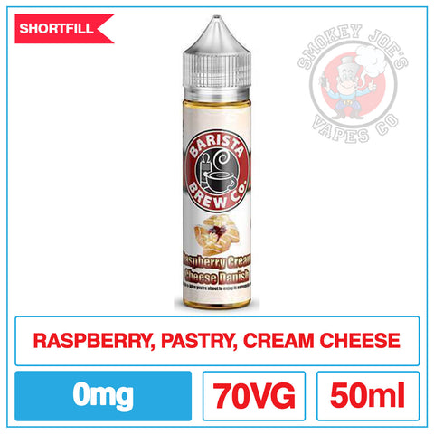 Barista Brew - Raspberry Cream Cheese Danish | Smokey Joes Vapes Co