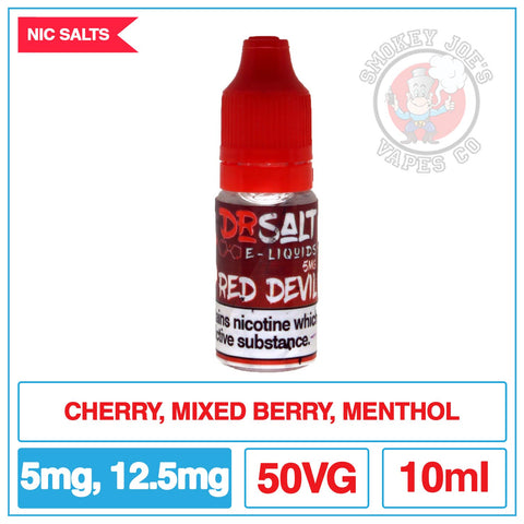 Dr Salt - Red Devil | Smokey Joes Vapes Co