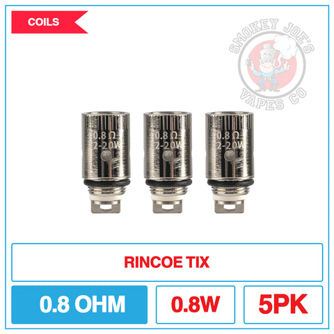 Rincoe Tix - Replacement Coils | Smokey Joes Vapes Co