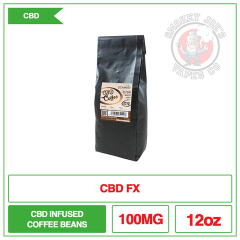 Somnio CBD Fresh Coffee Beans - 12Oz 100mg | Smokey Joes Vapes Co