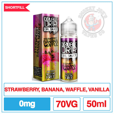Double Drip Strawberry Banana Waffle | Smokey Joes Vapes Co