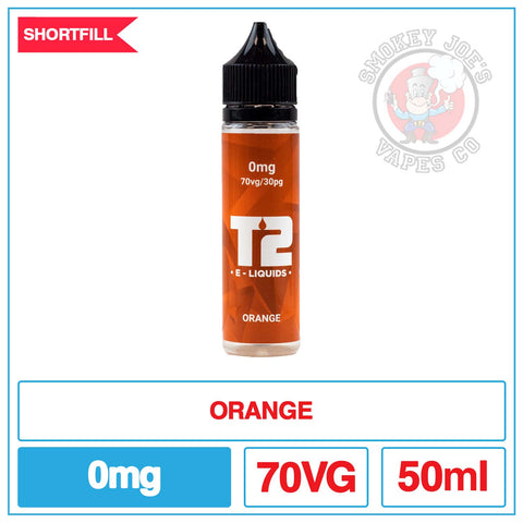 T2 - Orange - 50ML | Smokey Joes Vapes Co