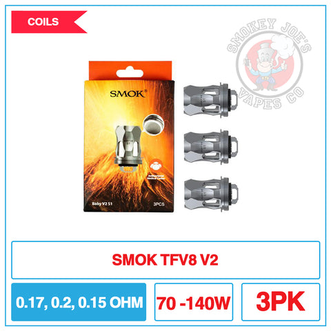 Smok TFV8 V2 - Replacement Coils | Smokey Joes Vapes Co