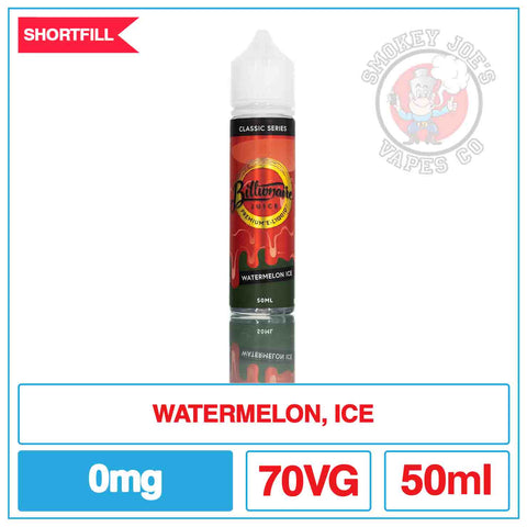 Billionaire Juice - Watermelon Ice 50ml | Smokey Joes Vapes Co